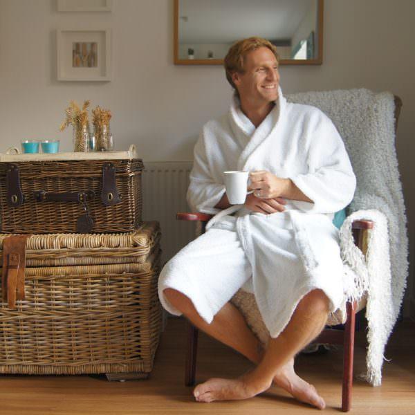 Ecoknit Cotton Robe Classic
